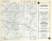 Forest T14N-R1W, Vernon County 1960